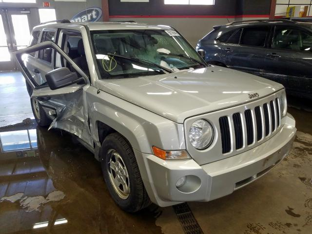 Jeep salvage cars for sale: 2010 Jeep Patriot SP