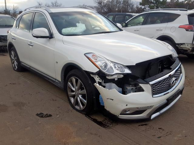 Salvage cars for sale from Copart Brookhaven, NY: 2016 Infiniti QX50