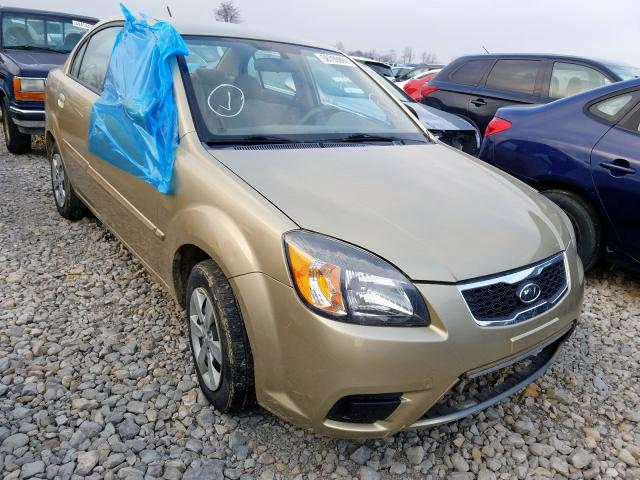 Salvage cars for sale from Copart Sikeston, MO: 2011 KIA Rio Base