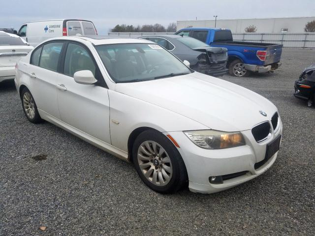 Salvage cars for sale from Copart Fredericksburg, VA: 2009 BMW 328 I