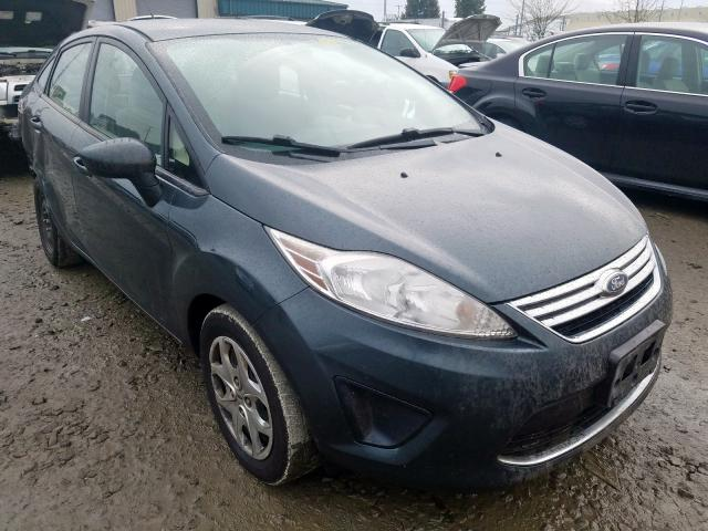 Salvage cars for sale from Copart Eugene, OR: 2011 Ford Fiesta SE