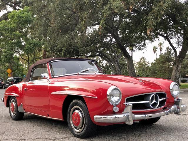Salvage 1957 Mercedes-Benz 190 SL for sale