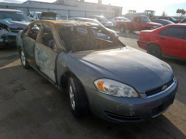 Salvage cars for sale from Copart Bakersfield, CA: 2008 Chevrolet Impala LT