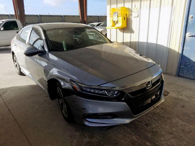 Salvage cars for sale from Copart Homestead, FL: 2018 Honda Accord EX