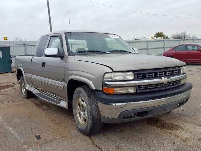 Salvage 1999 Chevrolet SILVERADO for sale