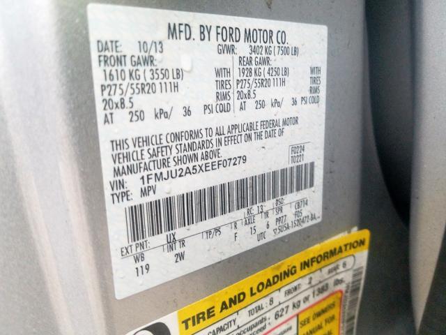 2014 Ford  | Vin: 1FMJU2A5XEEF07279