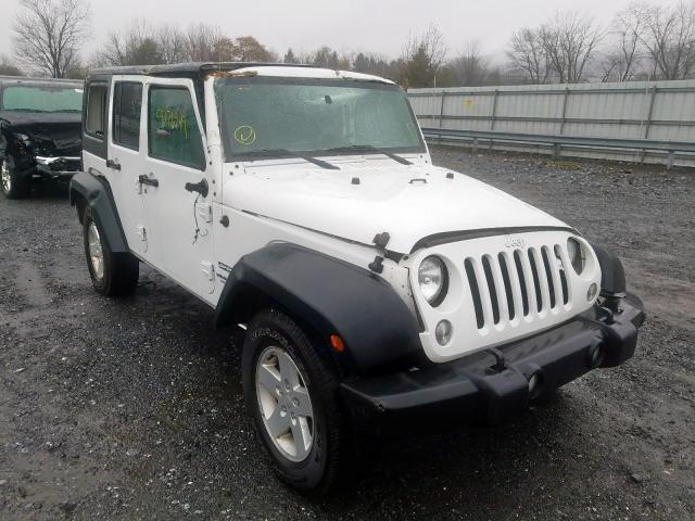 Salvage 2017 Jeep WRANGLER U for sale