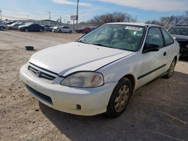 1999 Honda Civic Dx 1 6l 4 For Sale In Oklahoma City Ok Lot 57912629