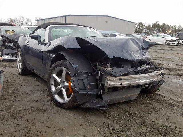 Saturn Sky salvage cars for sale: 2007 Saturn Sky