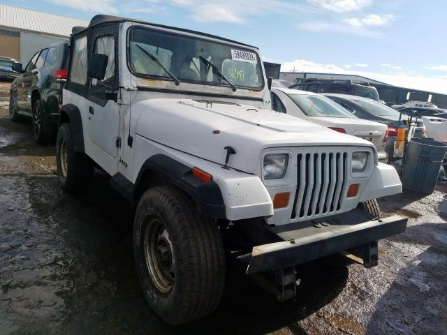 Jeep Wrangler salvage cars for sale: 1992 Jeep Wrangler
