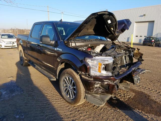 Salvage cars for sale from Copart Montreal Est, QC: 2019 Ford F150 Super