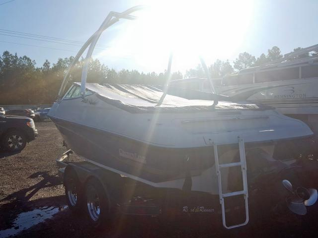 1995 CROW BOAT/TRLR - Right Rear View