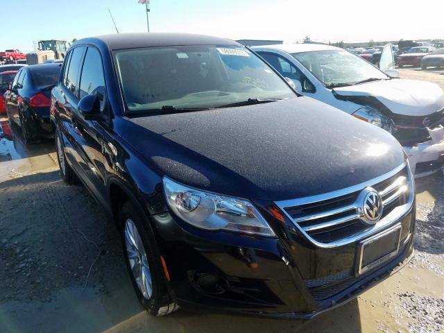 Salvage cars for sale from Copart Houston, TX: 2009 Volkswagen Tiguan S