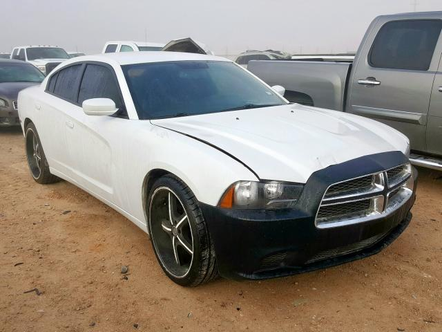 Salvage cars for sale from Copart Andrews, TX: 2013 Dodge Charger SE