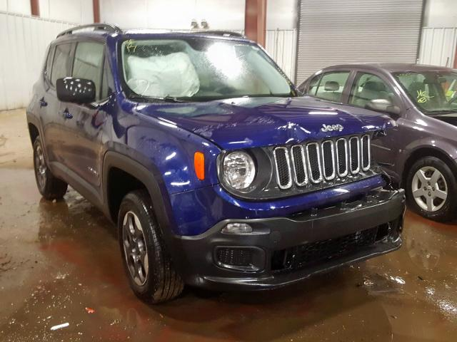 Jeep Renegade S salvage cars for sale: 2017 Jeep Renegade S
