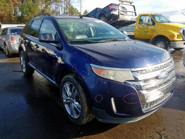Salvage cars for sale from Copart Dunn, NC: 2011 Ford Edge Limited