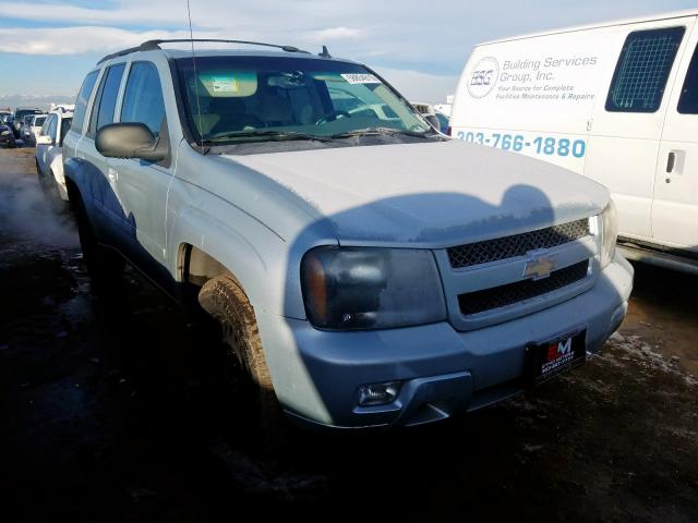 Chevrolet Trailblazer salvage cars for sale: 2007 Chevrolet Trailblazer