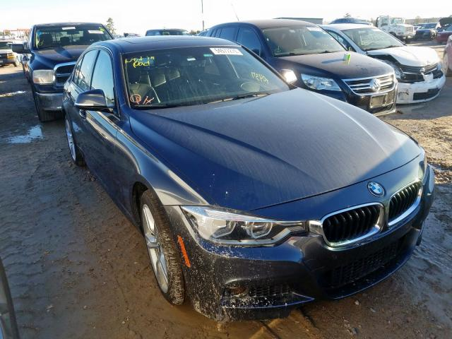 Salvage 2016 BMW 340 XI for sale