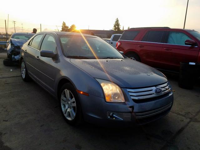 2007 Ford Fusion Sel >> 2007 Ford Fusion Sel 3 0l