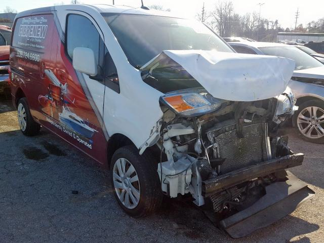 Nissan NV200 2.5S salvage cars for sale: 2013 Nissan NV200 2.5S