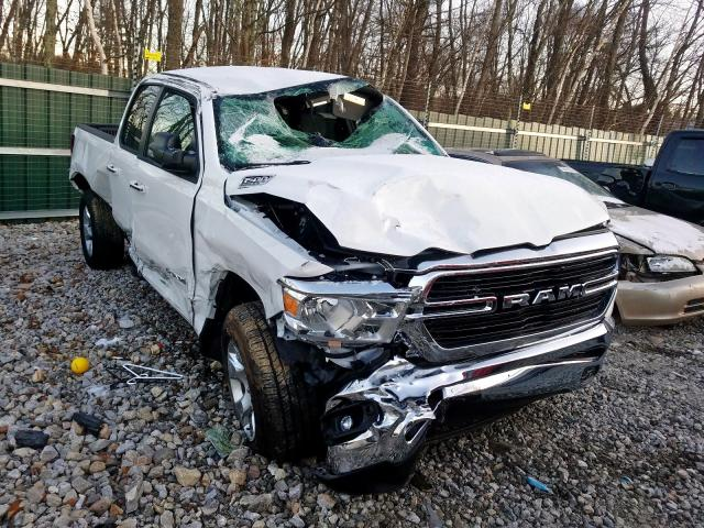 Dodge Truck Salvage Yards >> 2019 Dodge Ram 1500 Big H For Sale At Copart Candia Nh