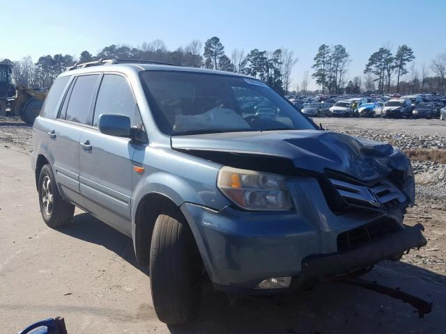 Salvage cars for sale from Copart Dunn, NC: 2006 Honda Pilot EX