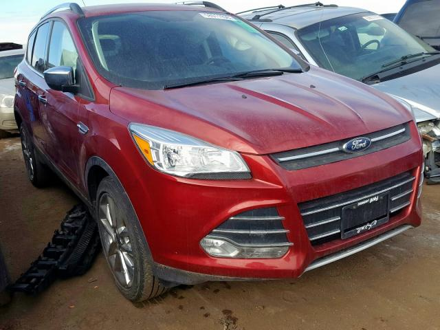 Ford Escape SE salvage cars for sale: 2016 Ford Escape SE