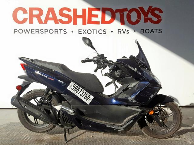 Salvage 2018 Honda PCX 150 for sale