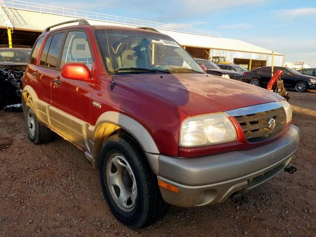Suzuki Grand Vitara salvage cars for sale: 2002 Suzuki Grand Vitara