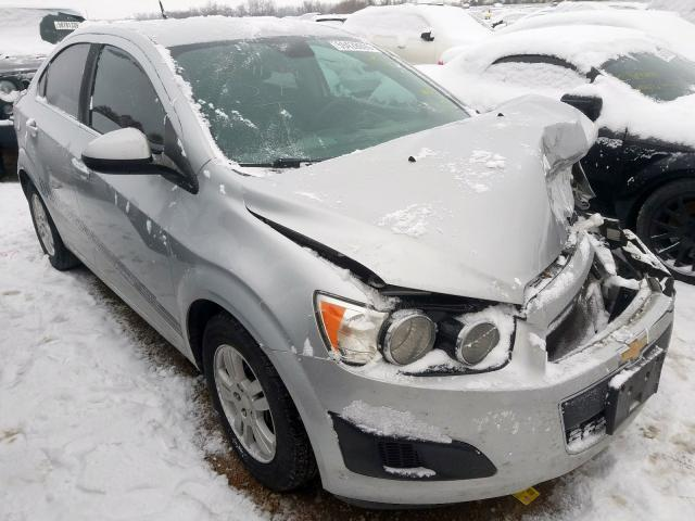 Salvage cars for sale from Copart Bridgeton, MO: 2013 Chevrolet Sonic LT