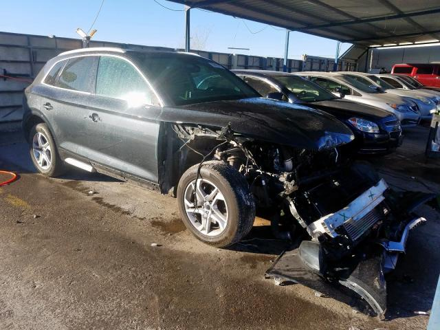 Salvage cars for sale from Copart Anthony, TX: 2018 Audi Q-5