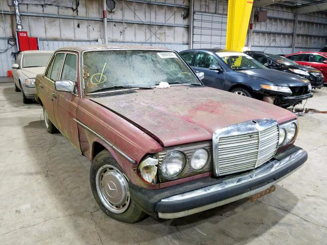 Mercedes-Benz 300D salvage cars for sale: 1985 Mercedes-Benz 300D