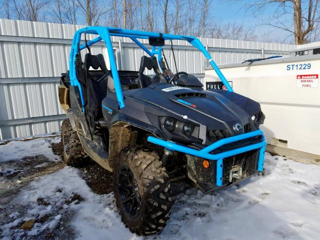 Salvage cars for sale from Copart Angola, NY: 2019 Can-Am Commander