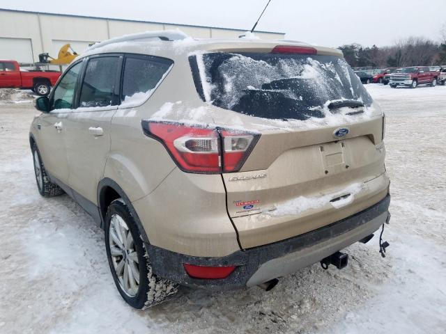 2017 Ford ESCAPE | Vin: 1FMCU9J93HUC11065