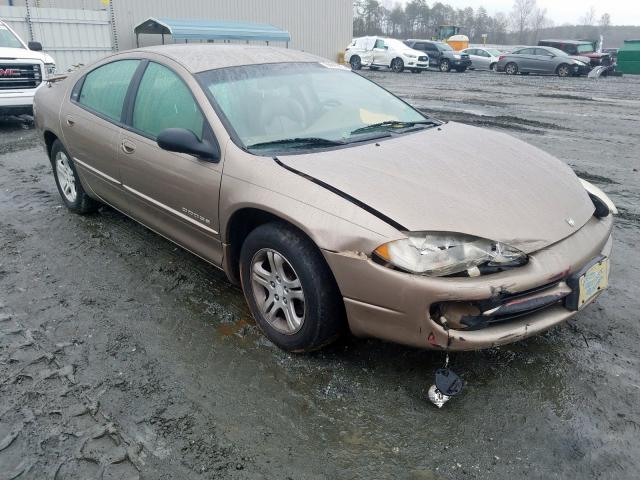 Salvage cars for sale from Copart Spartanburg, SC: 2000 Dodge Intrepid E