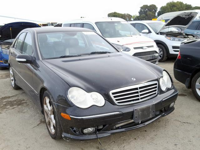 Mercedes-Benz C 230 salvage cars for sale: 2007 Mercedes-Benz C 230