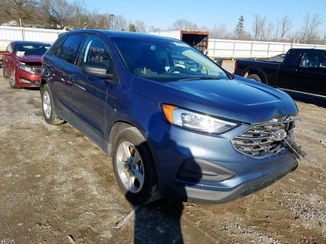Ford Edge SE salvage cars for sale: 2019 Ford Edge SE