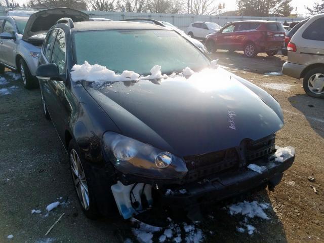 Vehiculos salvage en venta de Copart Moraine, OH: 2012 Volkswagen Jetta TDI