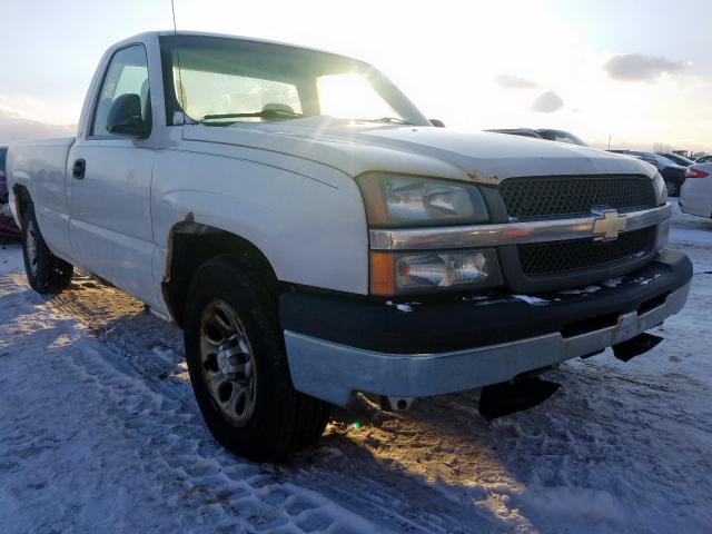 Salvage cars for sale from Copart Avon, MN: 2005 Chevrolet Silverado