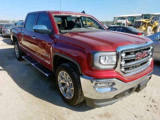Salvage cars for sale from Copart Houston, TX: 2018 GMC Sierra K15