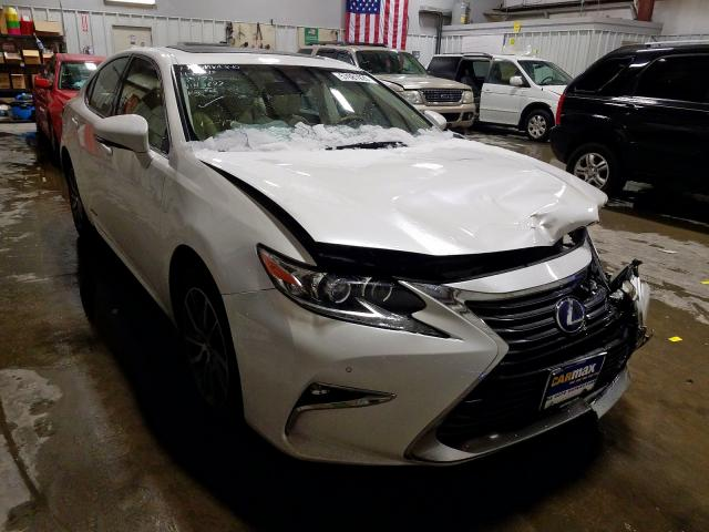 Salvage cars for sale from Copart Rogersville, MO: 2016 Lexus ES 300H