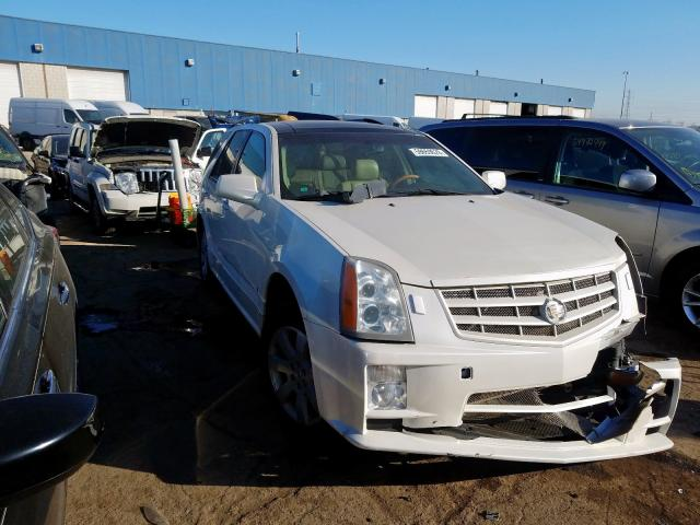 Salvage cars for sale from Copart Woodhaven, MI: 2007 Cadillac SRX