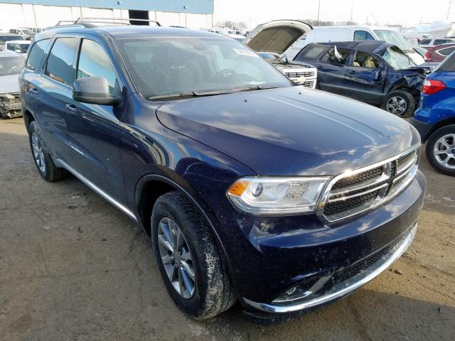 Dodge Vehiculos salvage en venta: 2018 Dodge Durango SX
