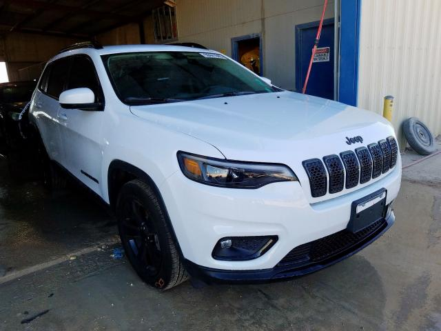 Salvage cars for sale from Copart San Antonio, TX: 2019 Jeep Cherokee L