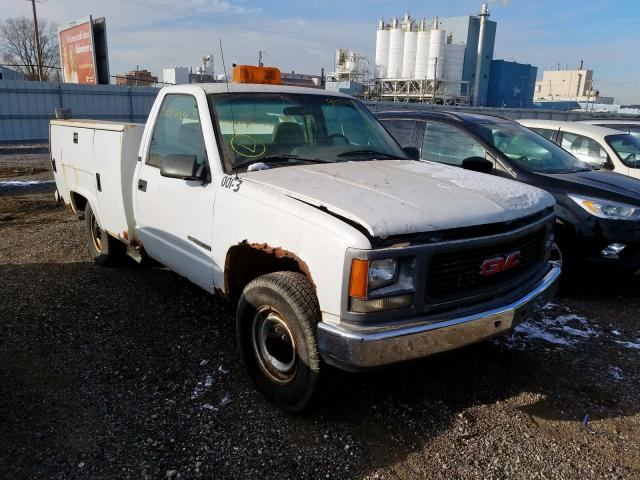 GMC salvage cars for sale: 1995 GMC Sierra C25