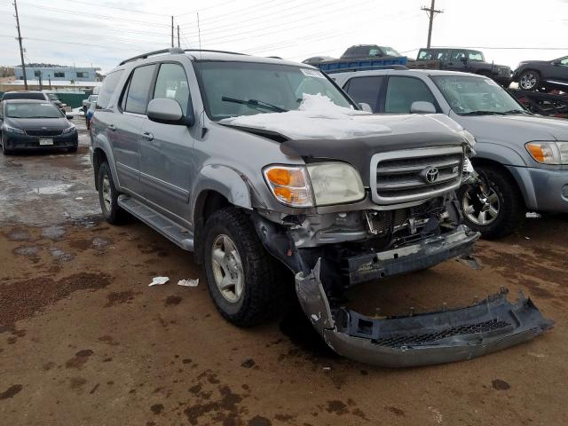 Toyota Sequoia SR salvage cars for sale: 2001 Toyota Sequoia SR