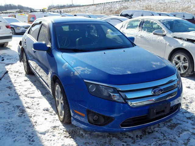 Salvage cars for sale from Copart Northfield, OH: 2012 Ford Fusion SE