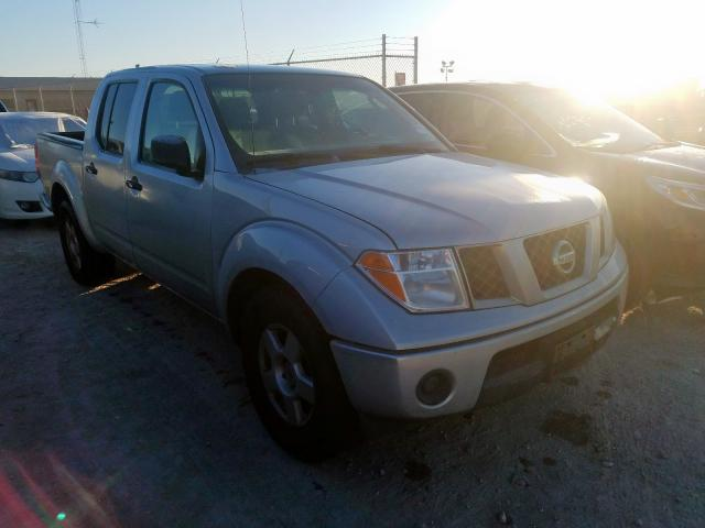 Salvage cars for sale from Copart Houston, TX: 2007 Nissan Frontier C