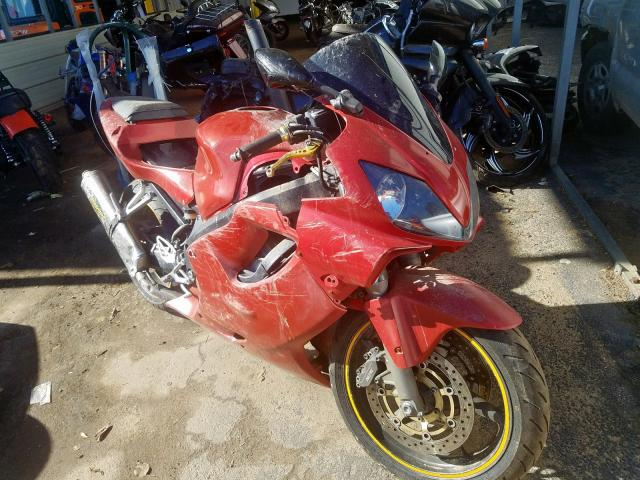 Honda CBR600 F4 salvage cars for sale: 2002 Honda CBR600 F4