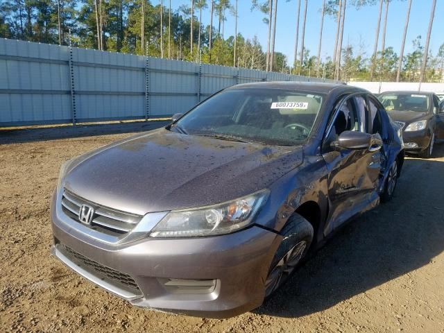 2013 HONDA ACCORD LX - Left Front View